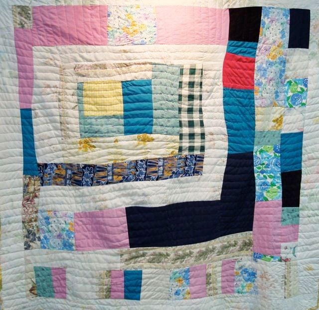 House Top Quilt by Second Generation Gee's Bend Quilter