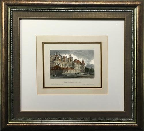 VINTAGE COLORED ENGRAVING BY J. TINGL