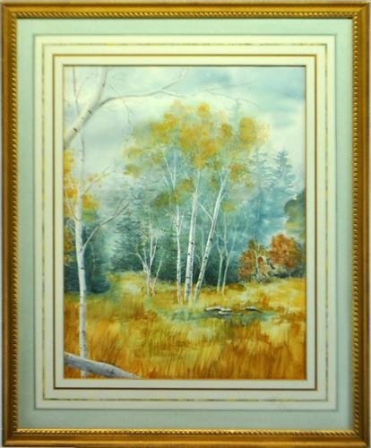 HIGHLY COLLECTIBLE ORIGINAL JAPANESE WATERCOLOR
