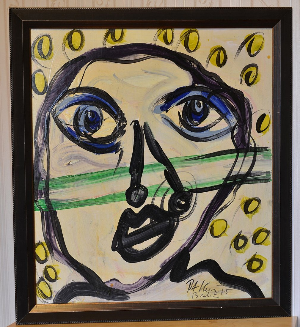 Great painting by Peter Keil,Face 1