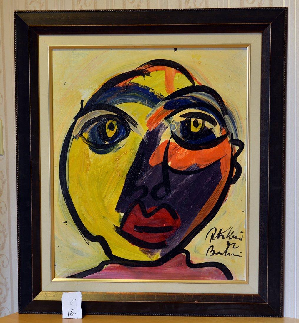 Great painting by Peter Keil, Rita Haywood,
