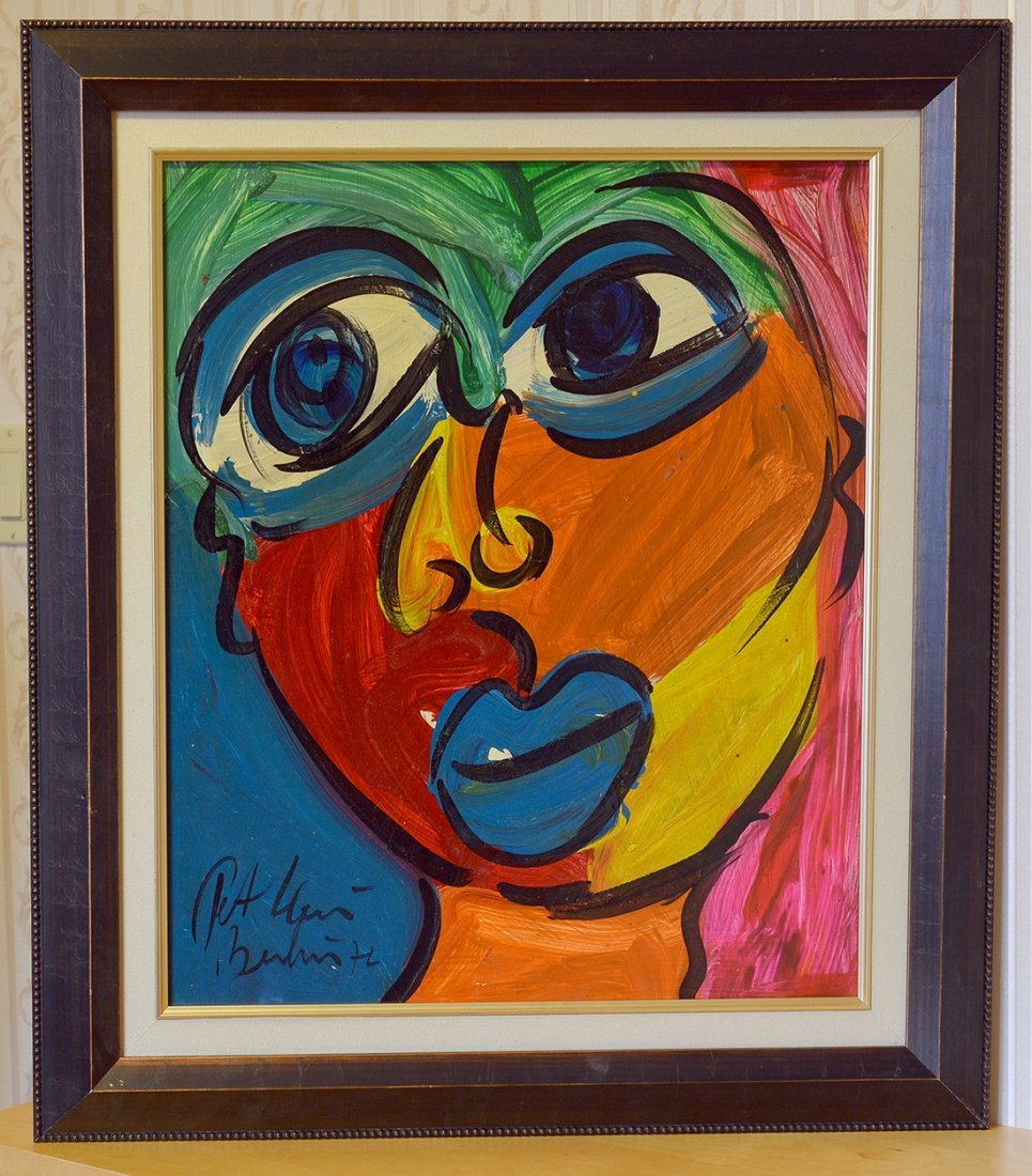 Great painting by Peter Keil, Face 12