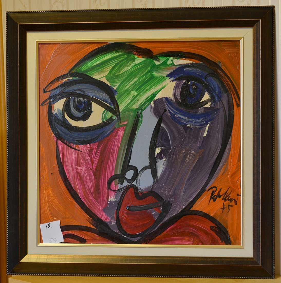 Great painting by Peter Keil, Face 14