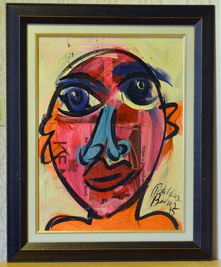 Great painting by Peter Keil,Elvis Presley,