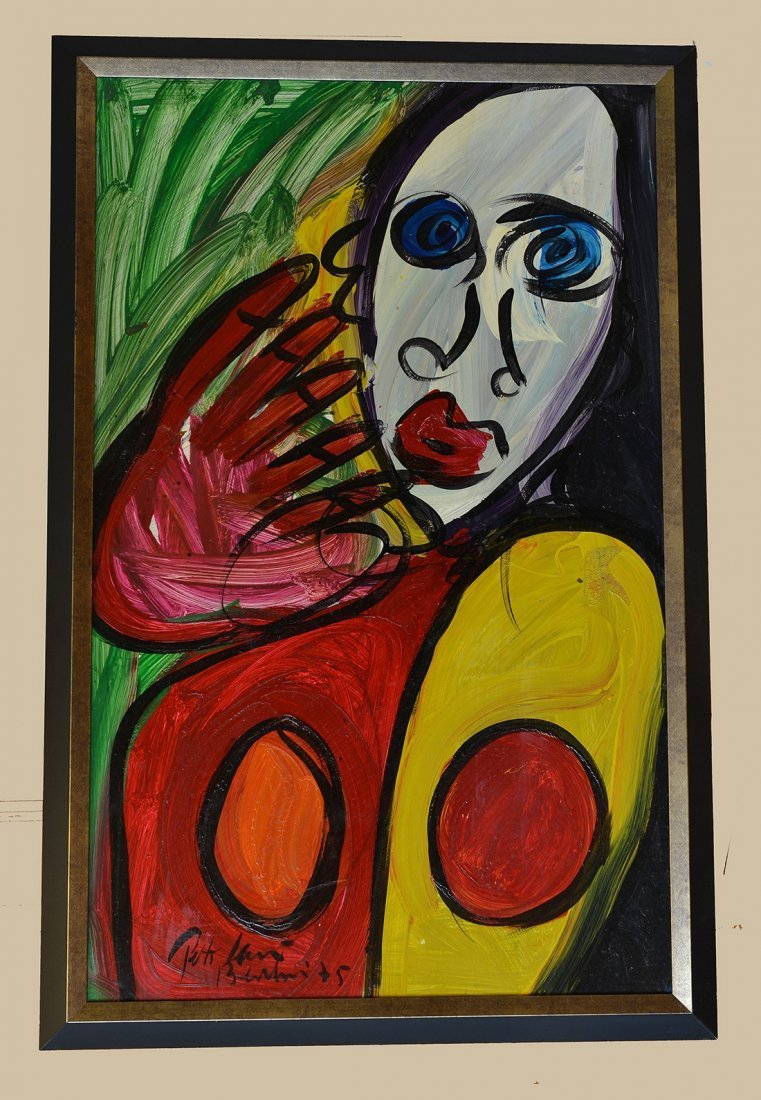 Great painting by Peter Keil,Face 44,