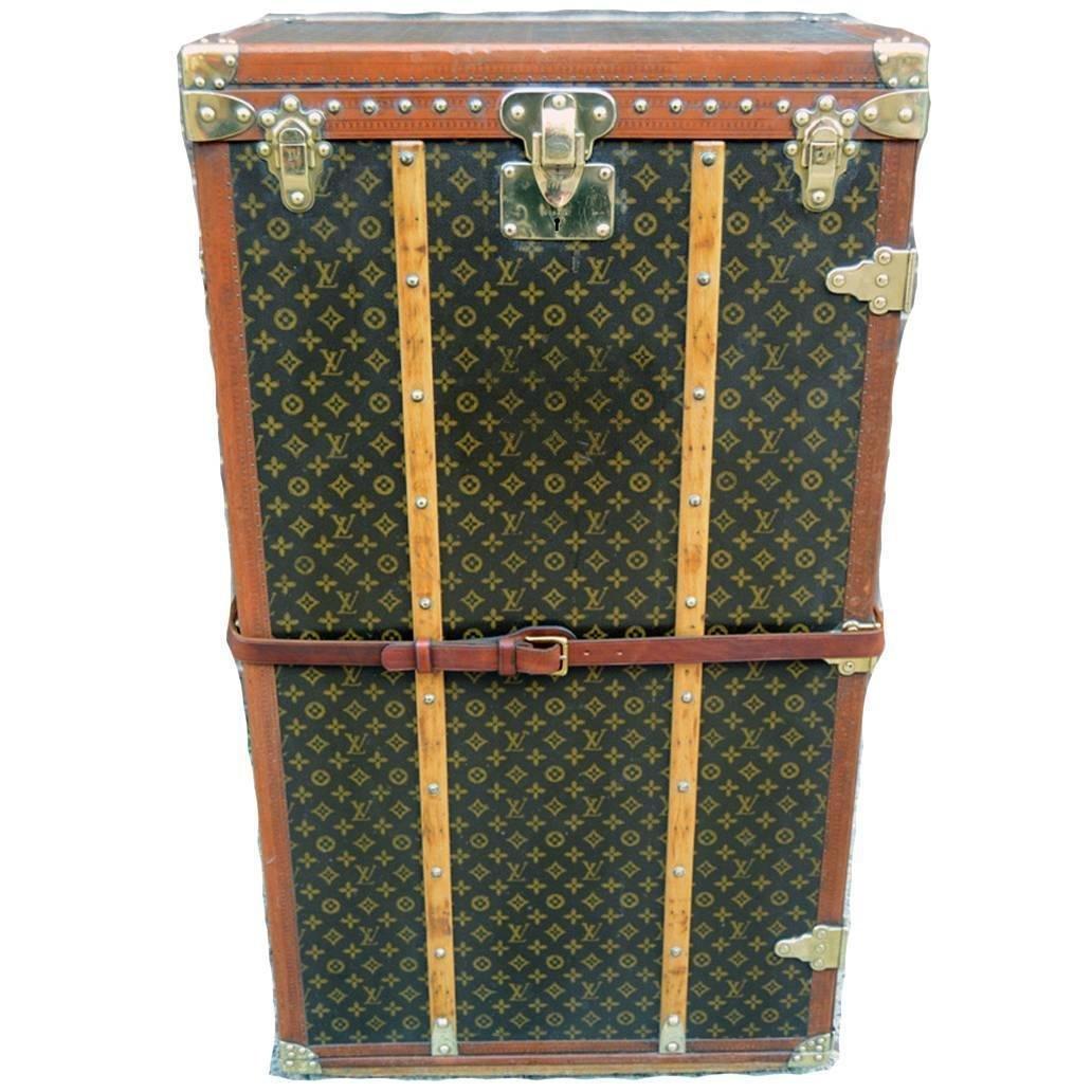 Louis Vuitton Rare Antique 30Pair of Shoes Trunk