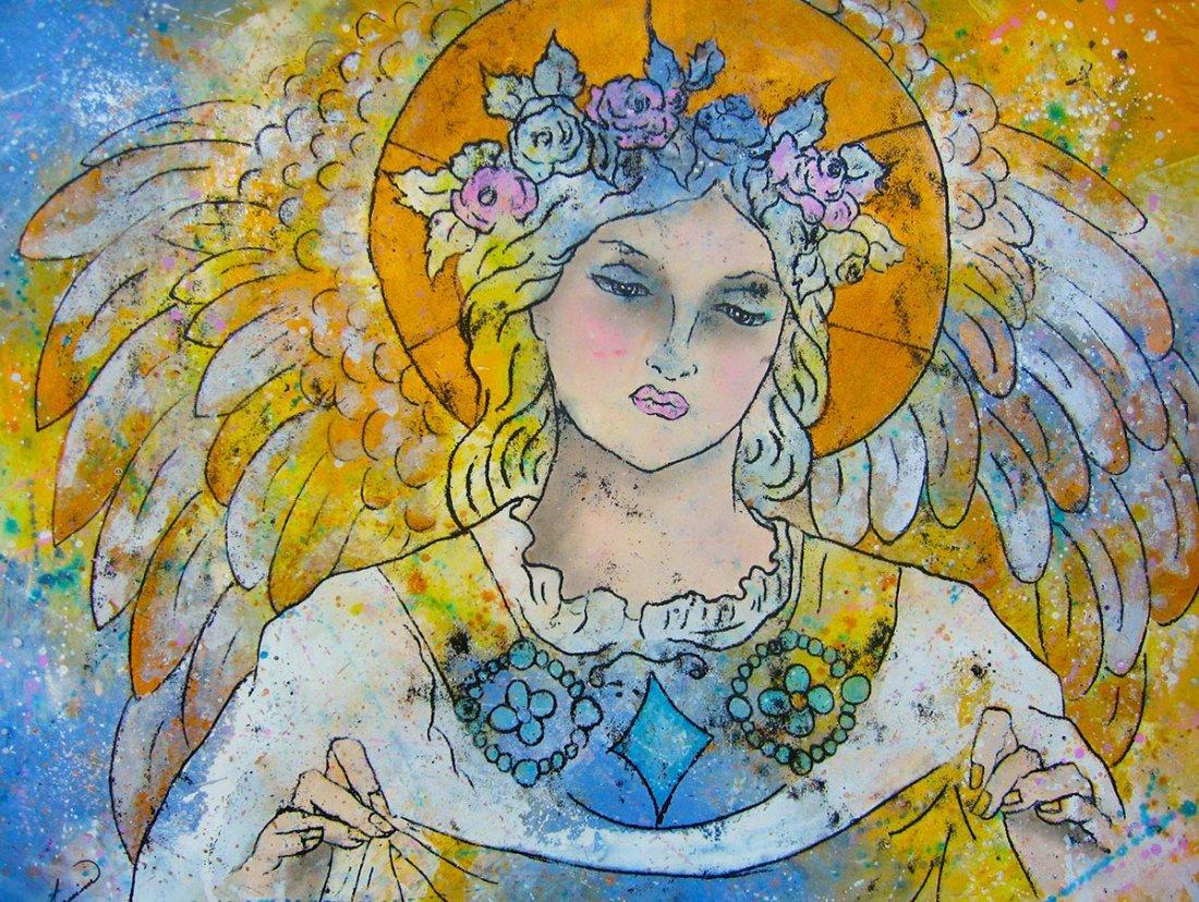 Original Watercolor on Archival Paper- Beatriz Aguirre