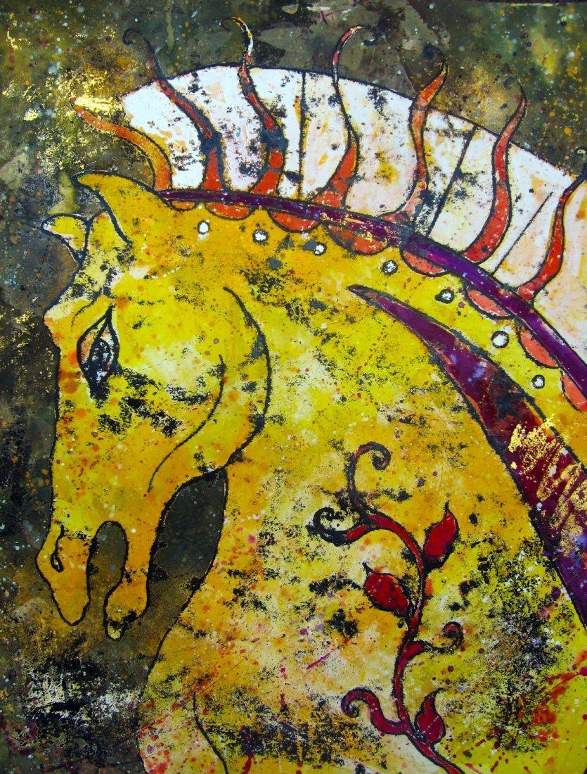Original Spartan Horse- Beatriz Aguirre