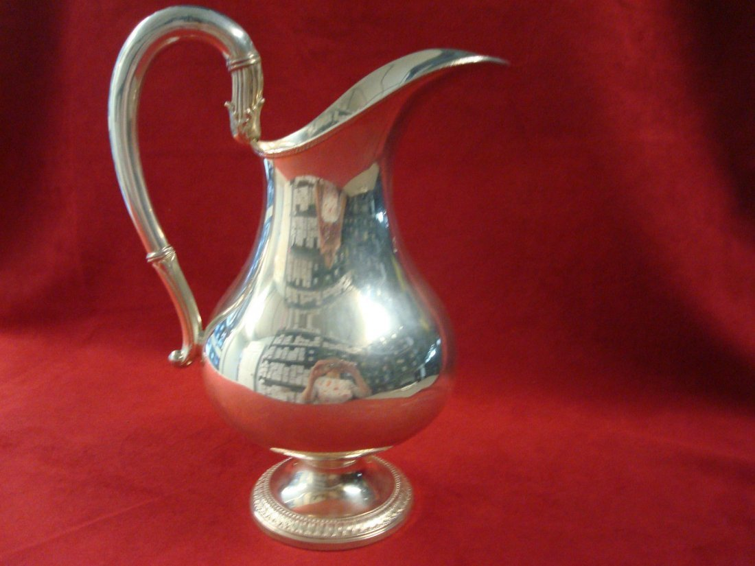 Camusso Sterling Water Pitcher