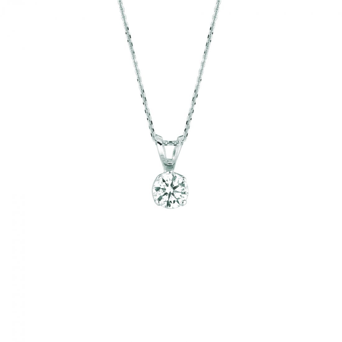 15 pointer diamond necklace