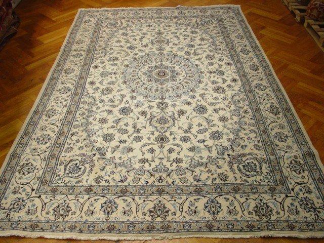 Large Silk & Wool Persian Nail New rug KPSI 200