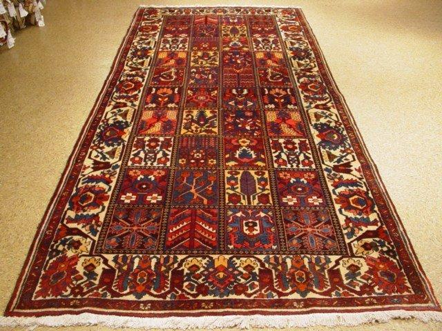 "Wide Long 11'.8x5'.4"" Persian Bakhtiar Chaleh Shotori"