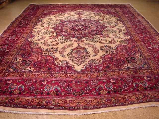 European esign 13'x10' Persian Dorokhsh condition like
