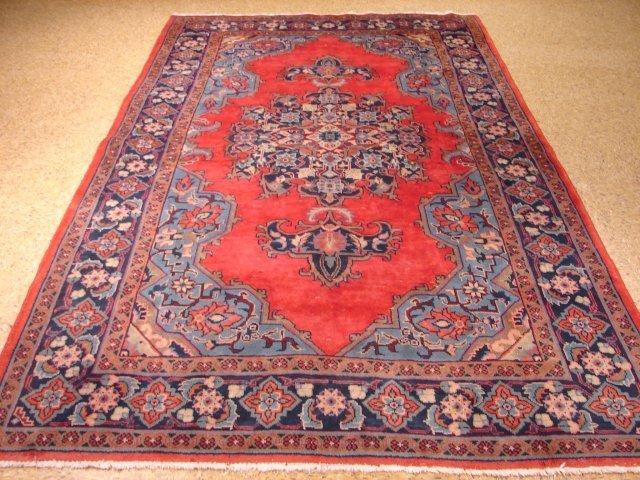 "European design 8'.7""x5'.3"" Persian Varamin carpet"