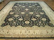 Fine large 15'x11' Persian Esfahan high knotted circa