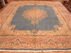 High knotted large 15x12 Blue color Royal Persian
