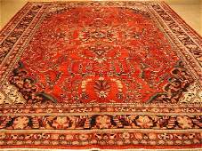 Semi antique large 134x107 Persian Lilihan carpet