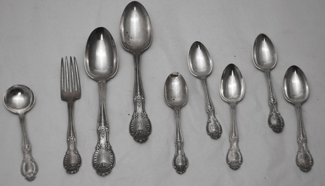 Tiffany & Co. Sterling Silver Richelieu - 9 pieces