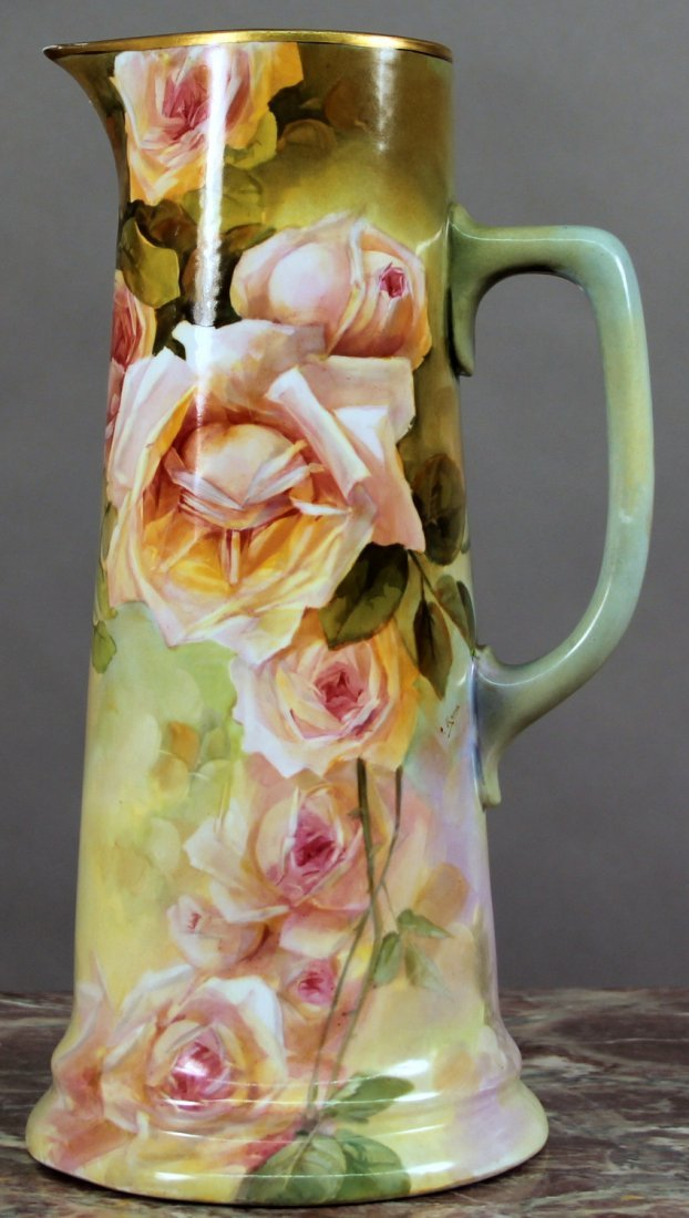 Early 20th Century Austrian Porcelain Pitcher