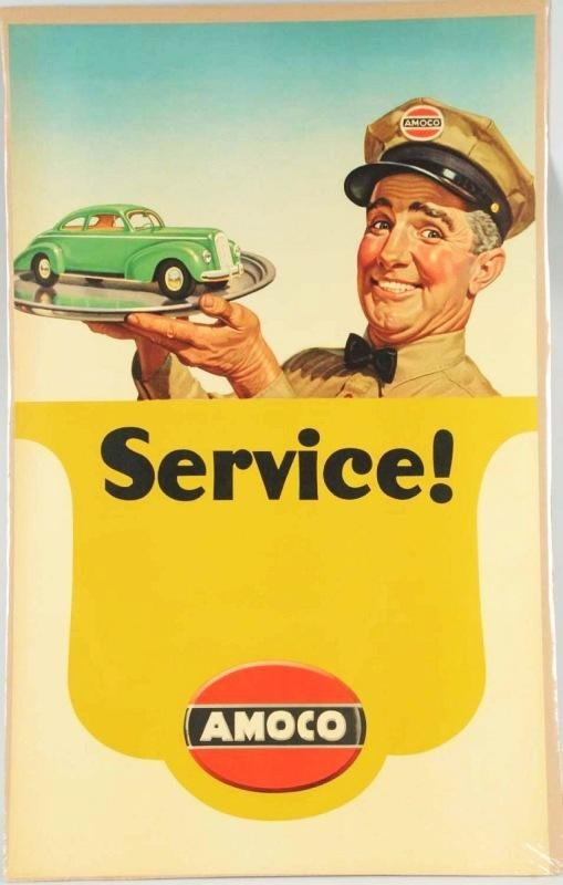 Amoco Man Poster 1940s A866