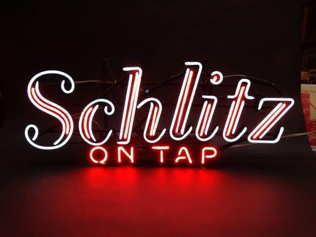 Schlitz Neon Sign AP441