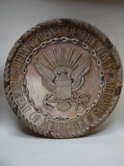 Sand Cast Mold Large Seal/Insignia Department of the