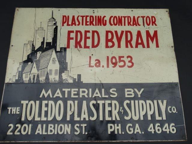 "Byram ""Toledo Plaster & Supply"" AP430"