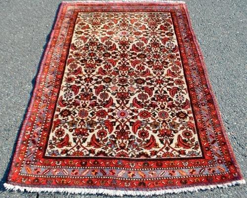 GORGEOUSLY DESIGNED SEMI ANTIQUE PERSIAN  MALAYER