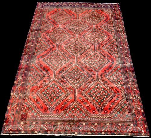 VERY COLLECTIBLE SYMMETRICAL PERSIAN YALAMEH
