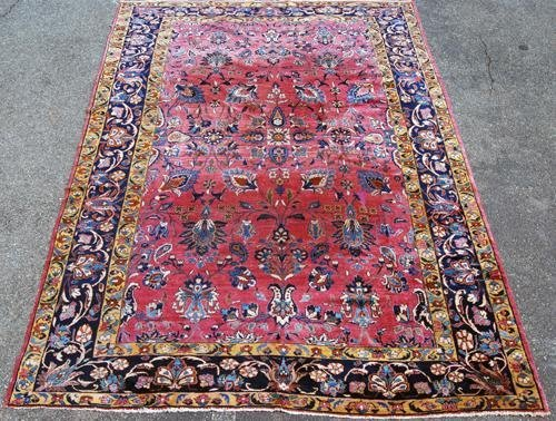 BEAUTIFULLY PRESERVED ANTIQUE PERSIAN LILIAN C. 1910