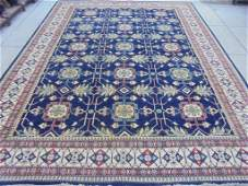 Large vegetable dyed colors 13'x10' Antique