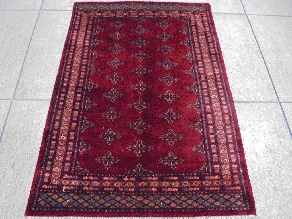 Fine Silky wool 6'x4' Bokhara jaldar hand made new rug