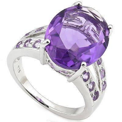Natural Amethyst 7.75 carats Ring