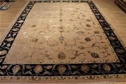 9x12 Wool/ silk Hand tufted Tabriz design