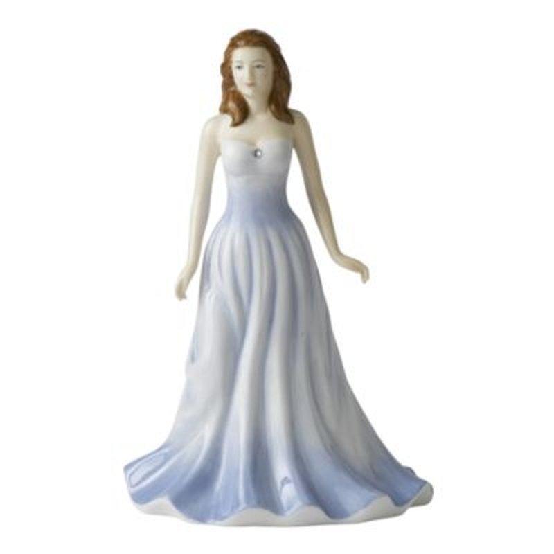 "Royal Doulton Figurine April  HN4973, H. 7"", 2006-2007"