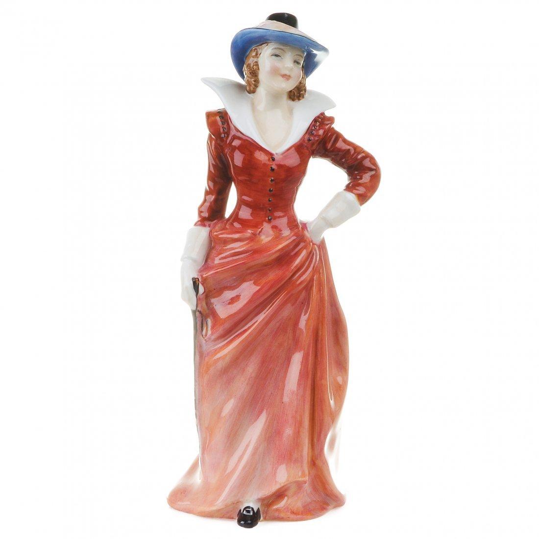 """Royal Doulton Figurine Marianne  HN2074, H. 7.25"""","""