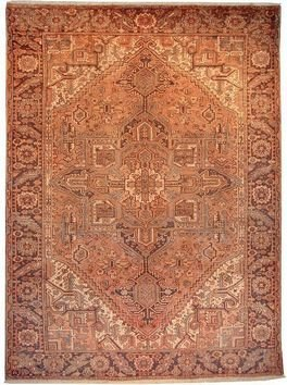 """Persian Rug Heriz Hand Knotted 10'11"""" X 8'0"""""""