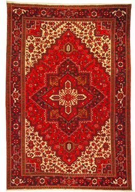 """Persian Rug Heriz Hand Knotted 10'2"""" X 6'10"""""""