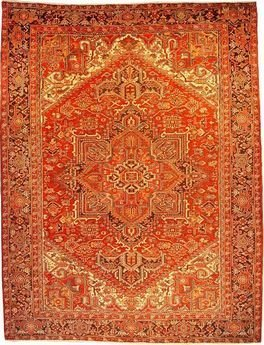 """Persian Rug Heriz Hand Knotted 11'5"""" X 8'9"""""""