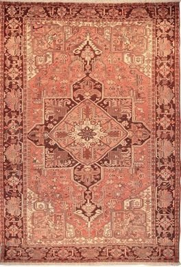 """Persian Rug Heriz Hand Knotted 11'9"""" X 8'0"""""""