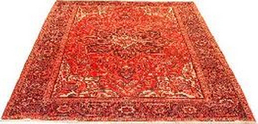 """Persian Rug Heriz Hand Knotted 12'3"""" X 8'11"""""""