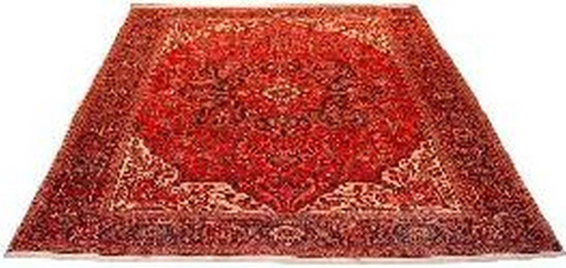 """Persian Rug Heriz Hand Knotted 12'6"""" X 9'10"""""""