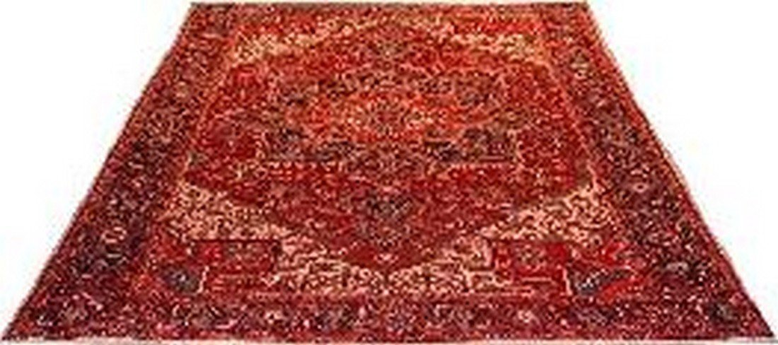 """Persian Rug Heriz Hand Knotted 12'7"""" X 9'6"""""""