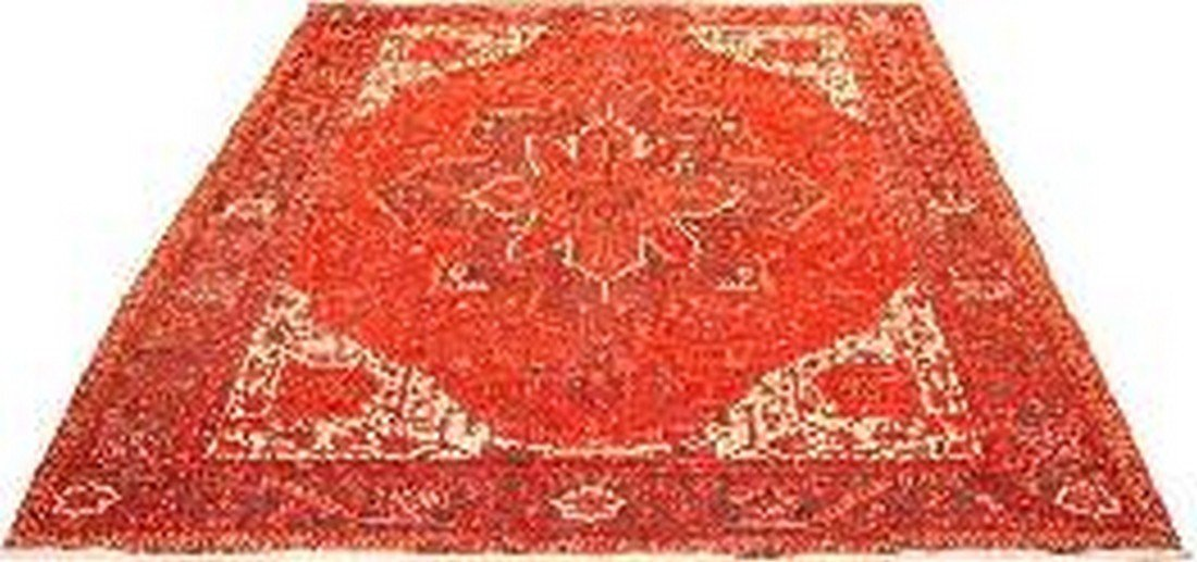 """Persian Rug Heriz Hand Knotted 13'3"""" X 10'10"""""""
