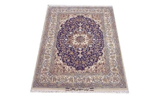 """Persian Rug Isfahan Hand Knotted 5'6"""" X 3'8"""""""