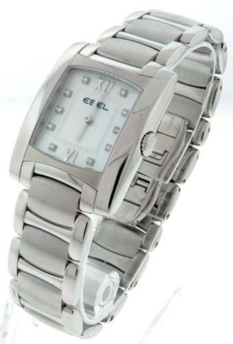EBEL BRASILIA STAINLESS STEEL DIAMOND MOTHER OF PEARL