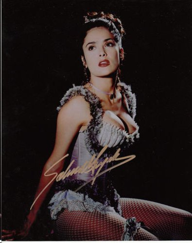 SALMA HAYEK AUTHENTIC SIGNED 8 X 10 PHOTOGRAPH.