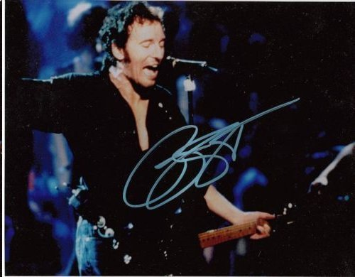 BRUCE SPRINGSTEEN AUTHENTIC SIGNED 8 X 10 PHOTOGRAPH #2