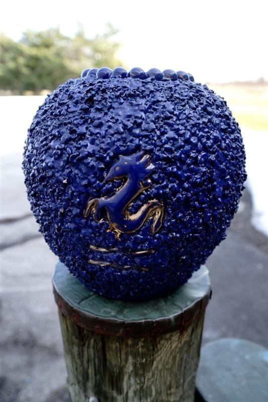 1930 Deruta Signed Vase