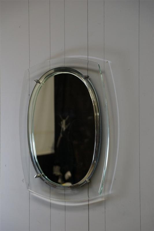 Fontana Arte Style Mirror